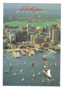 Large 5 X 7 in, Sailboats, Harbour, Halifax, Nova Scotia