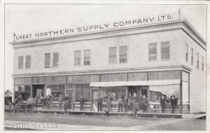 SWIFT CURRENT , Sask. , Canada , 1900-10s ; Great Northern Supply Company Store