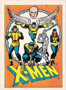 Advertising Marvel Comics X-Men