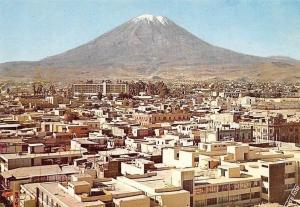 Peru Arequipa Panorama of the Town with the Misti General view