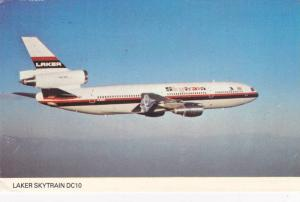 Laker Skytrain DC10 in flight, 40-60s