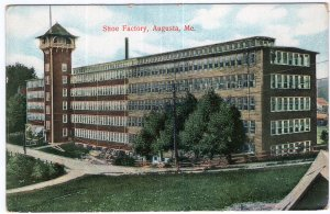 Augusta, Me, Shoe Factory