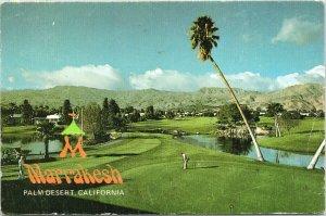Palm Desert CA Marrakesh Golf Oriented Community Golf Course c1980s Postcard C3