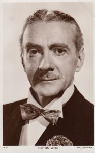 Clifton Webb Vintage Picturegoer Photo Postcard