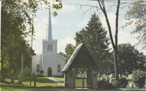 The old Historic St. Thomas Church,  Ontario,  Canada,  40-60s