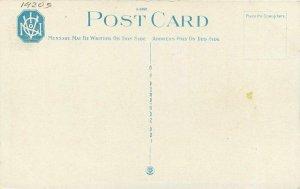 Artist impression 1920s Old Well Scene Shreveport Louisiana Teich Postcard 8299