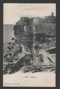 108871 France Corsica CORSE Bonifacio Vintage postcard