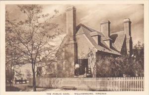 The Public Gaol Williamsburg Virginia Albertype