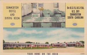 South Carolina Summerton Summerton Motel & Dining Room