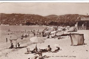 RP, JUAN-LES-PINS (Alpes Maritimes), France, PU-1929; La Plage, Beach Scene, ...