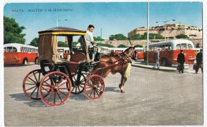 Malta; Maltese Cab - Karozzin PPC, 1965 PMK To GB