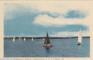 Sailing in Charlottetown Harbour, Prince Edward Island, Canada, 10-20s