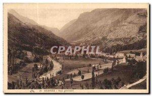 Postcard Old Gedres Vue Generale