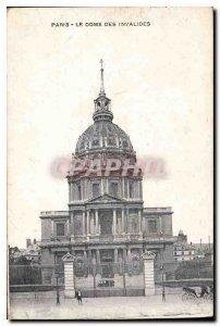 Old Postcard Paris Le Dome des Invalides