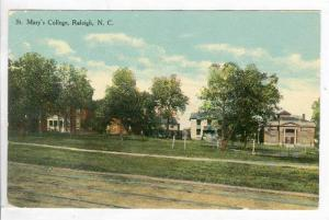 St. Mary's College, Raleigh, North Carolina, 1900-10s