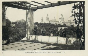 Postcard exhibitions Exposicion internacional de Barcelona 1929 National palace