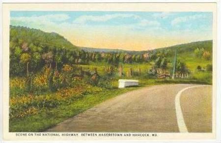 National Highway between Hagerstown & Hancock,MD,10-20