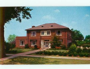 Vintage Post Card Pres Hm Jacksonville State College  Jacksonville  Ala   # 4144
