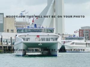 mp146 - Portsmouth Isle of Wight Ferry - Wight Ryder I - photo 6x4