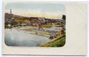 Boston & Montana Smelter Great Falls Montana 1907c postcard