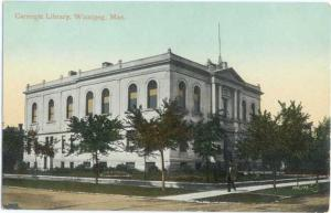D/B Carnegie Library Winnipeg Mantoba MB