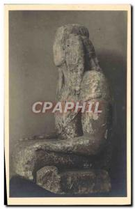 Postcard Old National Museum of & # 39Athenes Statue of & # 39arcade