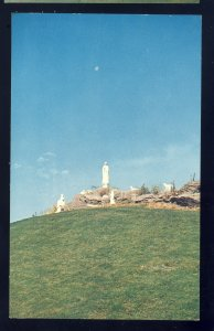 Manville, Rhode Island/RI Postcard, Our Lady Of Fatima, Carrara Marble Group