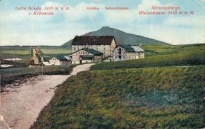 Czech Republic - Lucni Bouda snezka Schneekoppe Riesengebirge Wiesenbaude 02.22