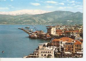 Postal 036782 : Lebanon. A view of Beirut with Mount-Sanin