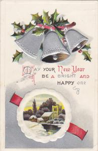 Happy New Year Silver Bells 1909