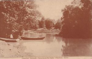 Canoe, Camping Grounds, Geneva-on-the-Lake, Chestnut Grove, Ohio, PU-1914