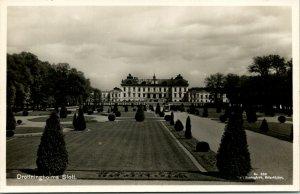 Drottingsholm Castle Sweden RPPC Postcard unused 1920s/30s