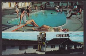 Rambler Motel,Pueblo,CO Postcard