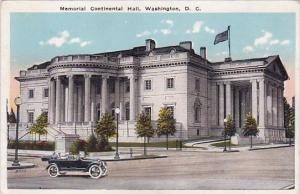 Memorial Continental Hall Washington DC