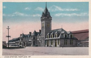 PORTLAND, Maine, 1900-1910's; Union Station