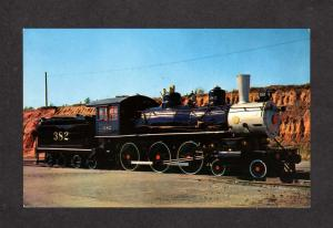 TN Cannonball Railroad Train Engine Locomotive Jackson Tennessee Tenn Postcard