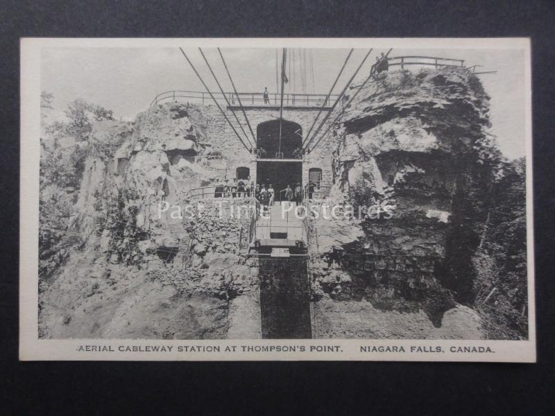 Canada: Niagra Falls - Aerial Cableway Station at THOMPSON'S POINT c1920/30's