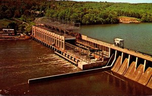 Maryland Conowingo Hydroelectric Plant On The Susquehanna River