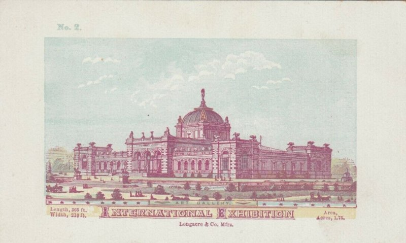 Philadelphia Centennial Exposition, 1876 ; Art Gallery