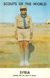 Scouts of the World: Syria (1968 Boys Scouts of America) Uniform
