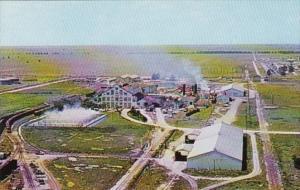 Florida Clewiston Aerial View Sugar Mill United States Sugar Corporation