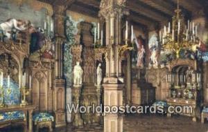 Kgl Schloss Neuschwanstein Germany, Deutschland Postcard Schlafzimmer II Kgl ...