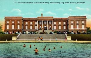Colorado Denver Colorado Museum Of Natural History Overlooking City Park