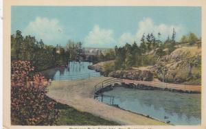 Rockwood Park Bridge , Saint John , New Brunswick , Canada , 1910s