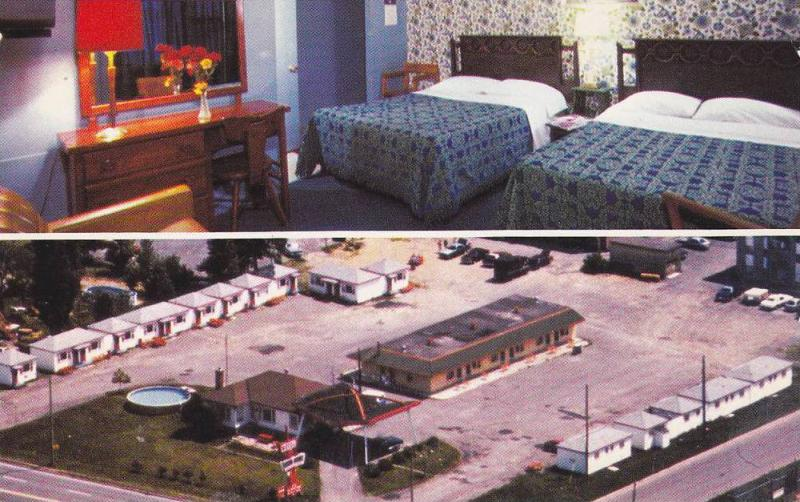Motel White House , BEAUPORT , Canada , 50-60s