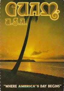 Guam Sunset Over Tumon Bay