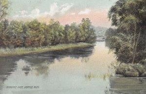 HASTINGS, Michigan, PU-1910; Thornapple River