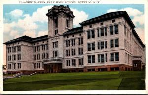 New York Buffalo New Masten High School 1933