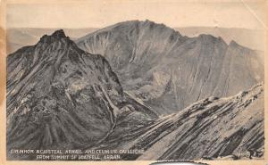 Cir Mhor & Caisteal Abhail and Ceum Ur Cailliche from Summit of Goatfell, Arran