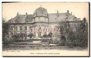 Old Postcard Toul Hotel de Ville (Old Eveche)